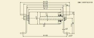 メイキコウ重荷重用ローラコンベヤストレートFHM57R-WS-W300-P75-L1500[商品]
