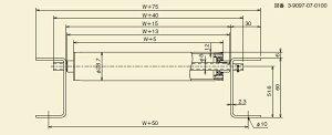 メイキコウ軽荷重用ローラコンベヤストレートFLA28R-QS-W400-P60-L3000[商品]