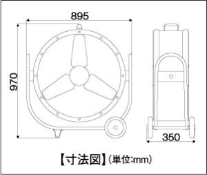 ナカトミBF-75V業務用扇風機(大型工場扇)75cm全閉式ビッグファン[配送制限商品/28kg]
