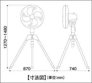 ナカトミCF-45S業務用扇風機(工場扇)45cmアルミファン全閉式ハイスタンド扇【在庫有り】【あす楽】