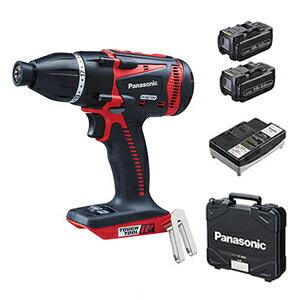 パナソニックDual充電マルチインパクトドライバー18V5.0AhEZ75A9LJ2G-R(赤)(電池2個・充電器・ケース付)