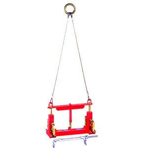 サンキョウトレーディング U字溝吊りクランプ マシンバイス 内吊ジャスト 300オート (ワイヤー付) :1台【在庫有り】【あす楽】:セミプロDIY店ファースト