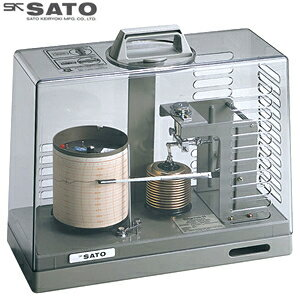 佐藤計量器 自記記録計 シグマII型気圧記録計 クォーツ式 7237-00