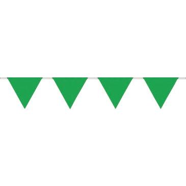 ■つくし ロープ三角標識 緑無地 〔品番:699-M〕[TR-1346694][送料別途見積り][法人・事業所限定][掲外取寄]