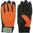 ■マックス 森の定番 防振手袋(寒冷地仕様) オレンジ LLサイズ[品番:MT856ORLL][TR-8365423]