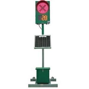 インフォメックス松本 CGS125CS GPSソーラー式信号機 1灯式 1セット(2台)