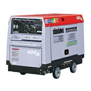 やまびこ(新ダイワ) ディーゼルエンジン発電機兼用溶接機 DGW400DMC-RCW