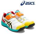 アシックス(asics)安全靴ウィンジョブCP307Boa1273A028-104カラー:ホワイト×ブラック【在庫有り】