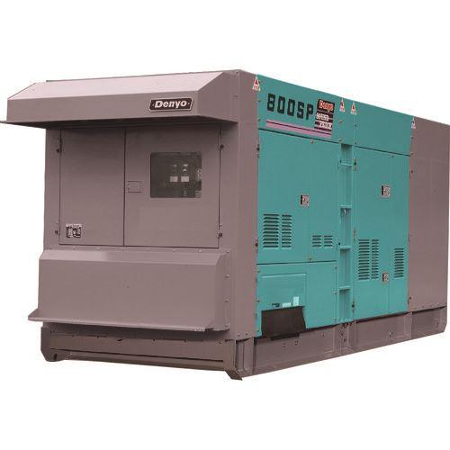 ■デンヨー 低騒音型ディーゼル発電機 〔品番:DCA-800SPK〕[TR-1479066]【大型・重量物・個人宅配送不可】