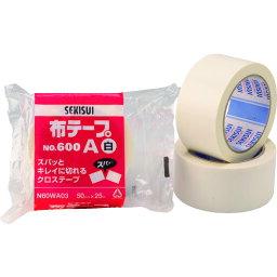 ■積水 布テープ#600A 38X25 白[品番:N60WA02][TR-1610238]