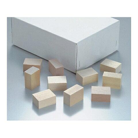 ■AS パラフィン用木製ブロック 中100入〔品番:2-173-02〕[TR-8211102][送料別途見積り][法人・事業所限定][掲外取寄]