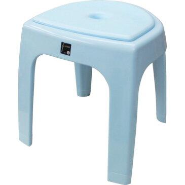 ■TONBO おふろ椅子N35(クッション付) ブルー 〔品番:07711〕掲外取寄[TR-8304013]