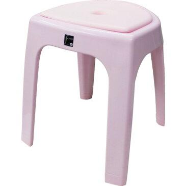■TONBO おふろ椅子N40(クッション付) ピンク 〔品番:07716〕取寄[TR-8304018]