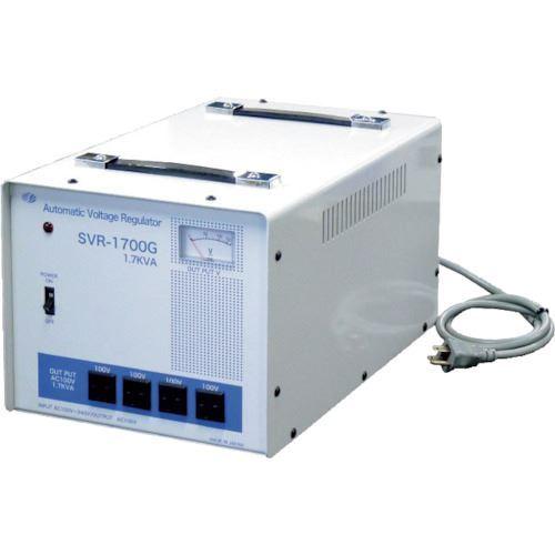 ■スワロー 交流定電圧電源装置 サイリスタ式〔品番:SVR-1700G〕[TR-8688481]【重量物・個人宅配送不可】