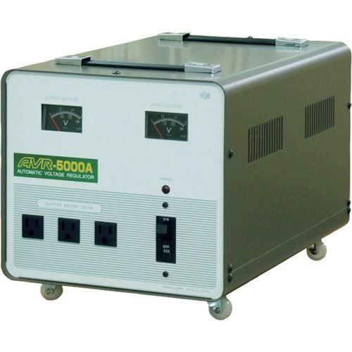 ■スワロー 交流定電圧電源装置 摺動式〔品番:AVR-5000A〕[TR-8688816]【重量物・個人宅配送不可】