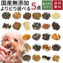 メール便 送料無料 猫 犬 おやつ 無添加 選べる5個セット...