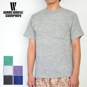 ウエアハウスWAREHOUSETシャツLot4601ポケットT無地メンズ半袖コットン100%アメカジS-XL