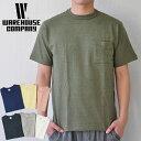 【ポイント10倍】ウエアハウス WAREHOUSE Tシャツ Lot 4601 ポケットT 無地 メンズ 半袖 コットン100% アメカジ S-XL
