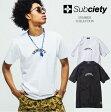 サブサエティ Tシャツ 半袖 SUBCIETY SALOON S/S グロリアス バンダナ ペイズリー メンズ ストリート サブサエティー 102-40024