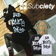SUBCIETY サブサエティ Tシャツ TAG S/S 103-40143 半袖 メンズ ストリート サブサエティー