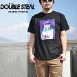 ダブルスティール DOUBLE STEAL 半袖 Tシャツ DOU GIRL 971-14205