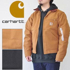 carharttカーハートジャケットJ001DUCKDETROITJACKETダックデトロイトジャケットS-Lブラウン黒メンズ