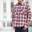 チェスト CHECK&STRIPE チェックシャツ シャツ 半袖 メンズ 25032