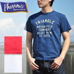 PHERROW'SフェローズTシャツTRIANGLE半袖アメカジ17S-PT8PHERROWS