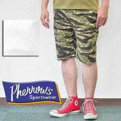 フェローズPHERROW'Sチノショーツショーツハーフパンツショートパンツ17S-PSP1タイガーカモホワイト