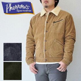 PHERROW'Sフェローズランチジャケットコーディロイ17W-PRJ-91ボアメンズ全4色
