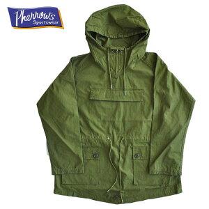 Pherrow'sフェローズジャケット20W-PMA1スモックパーカオリーブM-XLメンズアメカジミリタリー