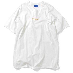 LafayetteラファイエットTシャツロゴSMALLLOGOTEEメンズM-XXL白/黒/緑/茶刺繍半袖LA190103