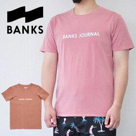 BANKSTシャツバンクスJOURNALLABELTEESHIRTロゴASHROSEピンクM-XLATS0252