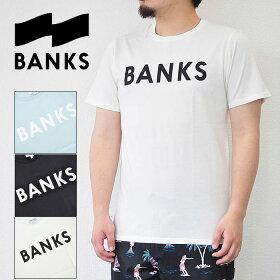 BANKSTシャツバンクスCLASSICTEESHIRTロゴクラシックメンズホワイトブラックブルーS-XLATS0261