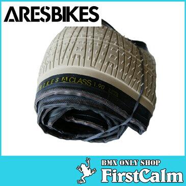 【BMXパーツ】ARESBIKES アーレスバイク A-CLASS TIRE KEVLAR SILICA 125psi 20x1.90 SAND