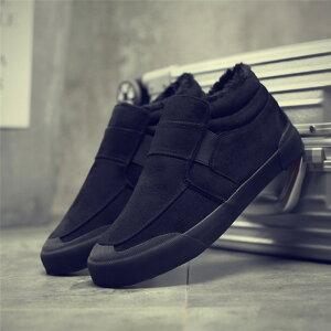 ムートンブーツ メンズ ショートブーツ スニーカーメンズシューズ 裏起毛 ボアブーツ 父の日 冬 雪 柔らかい 暖かい 暖 ボア 靴 大きいサイズ