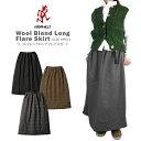 【NEW】GRAMICCI グラミチ GLSK-19F014WOOL BLENDLONG FLARE SKIRT ウール ブレンド ロング フレアスカート スカート レディース