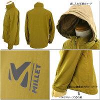 MILLETミレーMIV01579フォルクラFORCLAZJACKETジャケットマウンテンパーカーレインウェア