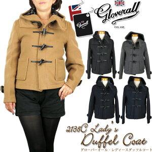 【20%OFF!】Gloverall グローバーオール 2138/C Duffel Coat Short ダッフルコート ショート レディース