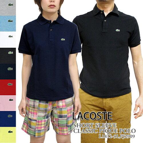 ラコステ ポロシャツ LACOSTE L1812 PJ2909 クラッシック ピケ ポロ ボーイズ メンズ レディース ...