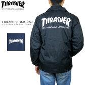 【再入荷!】THRASHER スラッシャー TH8901C マグロゴ コーチジャケット