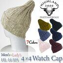 【40%OFF!】HIGHLAND 2000 ハイランド2000 コットンリネン ニットキャップ ニット帽