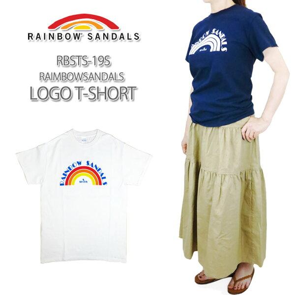 40%OFF RAINBOWSANDALSレインボーサンダルLOGOT-SHIRTロゴTシャツメンズ&レディースサイズRBST