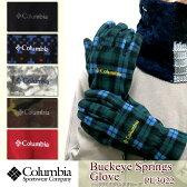 【20%OFF!】COLUMBIA コロンビア PU3022 Buckeye Springs Glove バックアイスプリングス グローブ 手袋 フリース