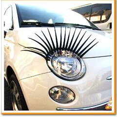 強烈インパクト!うちの車は女の子♪みんなの注目を集めて愛車をアピールしちゃおう!車 ヘッド...