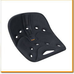 座るだけで腰の負担が軽減!お手入れも持ち運びも楽々♪BackJoy Relief Cushion バックジョイ ...