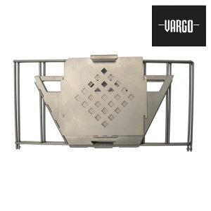 VARGO(バーゴ)チタニウムファイヤーボックスグリル【送料無料】【キャンプ】【アウトドア】