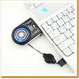 ノートPC排気口取付型ファン AKIBA57 ノートパソコン 冷却ファン クーラー 冷却台 冷却 USB ファン 扇風機 PC ノートPC CPUファン コンパクト 携帯 熱暴走 通気口 排気熱 デスクワーク 仕事 夏