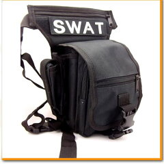 SWAT レッグポーチ ショルダーバッグ 2WAY 2WAYバッグ 軍用 サバイバルゲーム サ…