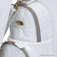 ロイヤルコレクションオウル(OUUL)8.5型(約3.6kg)アリゲーターホワイトリミテッドカートバッグ、ヘッドカバーセットAL8LTD[OUULALLIGATORWHITELIMITED]